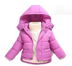 Baby Jacket - 80% Down Winter Coat