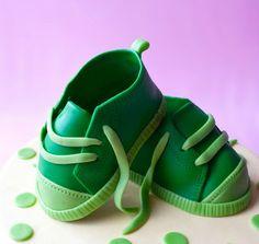 Детская обувь из мастики. Мастер класс