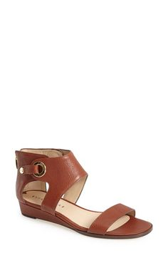Via Spiga 'Vadina' Leather Ankle Strap Sandal (Women) available at #Nordstrom