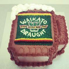 Waikato Beer Mug Cake