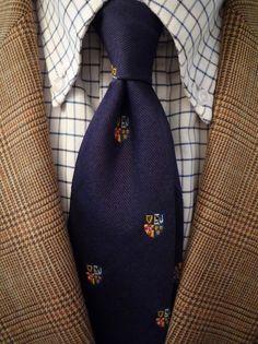 RL Polo jacket Baggy BD oxford J. Preppy Style, Men's Style, Vintage Men, Vintage Fashion, Polo Jackets, Tweed Run, Glen Plaid, Classic Man, Well Dressed Men