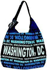The practical Robin Ruth Tote Bag - Big City - Black with Blue Washington DC looks great and makes a nice souvenir of your visit. Blue Bags, Kitchen Storage, Canvas Tote Bags, Storage Organization, Washington Dc, Home Kitchens, Kitchen Dining, Robin, Printing