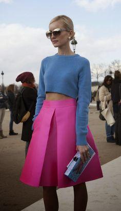 #tendencias #StreetStyle #fashionblogger faldas midi