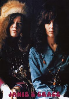 A great poster of two iconic women who changed the face of Rock Music in the 1960's - soul sisters Janis Joplin and Grace Slick! Ships fast. 23x33 inches. Need Poster Mounts..? bm9622