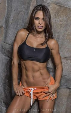 The incredible Michelle Lewin http://hubpages.com/sports/Female-Fitness-Models-and-Female-Fitness-Competitors-3