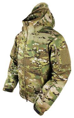 Men's Condor Summit Softshell Tactical Jacket - 3 Layer Reinforced Winter Coat