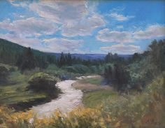 Duck Creek, Utah by Susan Fuquay Oil ~ 11 x 14