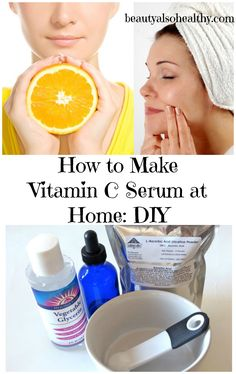 Vitamin C serum is an amazing product for your skin. It's a marvellous anti-oxidant that repairs and prevents free radical harms to the skin, stimulates the production of collagen, protects your skin from ultraviolet rays, and reduces scars and wrinkles. If you go to purchase Vitamin C serum from the market, you will have to ...