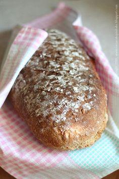 Chleb pszenno-żytni ze słonecznikiem, Chleb wieloziarnisty żytni na zakwasie, sourdough sunflower seeds bread, #chleb #razowy #zakwas #bread #sourdough