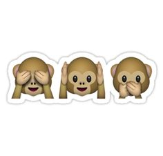 85cab9ab770d  Monkey Emoji - See No Evil