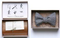 Bow tie packaging ;D