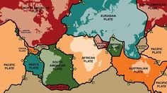 World's tectonic plate movement mapped | #GeologyPage