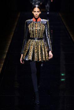 Balmain - Fall/Winter 2014-2015 Paris Fashion Week