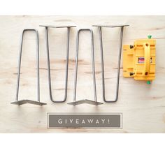 GRR-RIPPER 3D Pushblock and 4 Hairpin Legs Giveaway!
