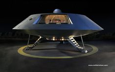 A 3D rendering of a concept Jupiter 2 spacecraft from the Irwin Allen TV series, LOST IN SPACE.