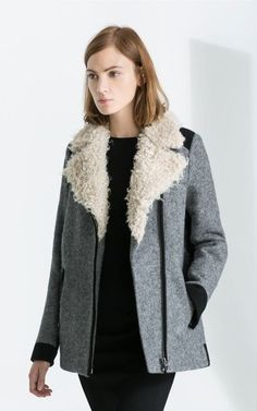 Lamb Wool Collar Thick Outwear-$46.90FREE SHIPPING
