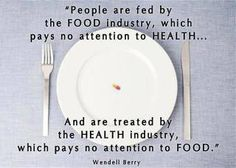 Food industry vs health industry