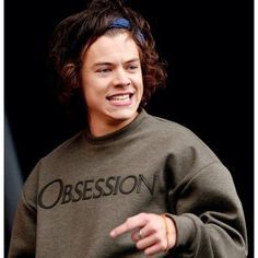 Harry Styles Obsession Inspired Sweatshirt Unisex Adult (€18) ❤ liked on Polyvore featuring tops, hoodies, sweatshirts, harry, one direction, blue, women's clothing, hooded sweatshirt, sweatshirt hoodie and blue shirt