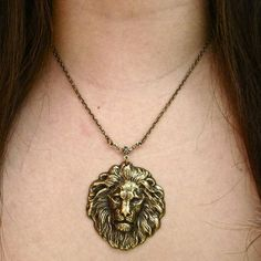 House Lannister - Lion necklace
