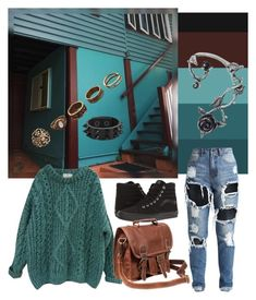 """Hospital House"" by skyler-castillo on Polyvore featuring Vans, Essentiel, George J. Love and Mahi"