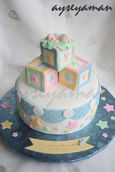 Más tamaños | Baby shower cake for a boy | Flickr: ¡Intercambio de fotos!