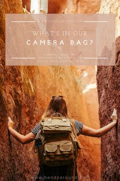 people often wonder how do we manage to travel only with our backpacks and fit all the equipment needed to capture awesome shots. please enjoy the reveal of what's in our camera bags!