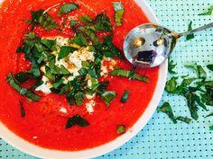 Merveilleux Gaspacho Tomates - Pastèques