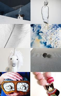 blue harvest by renee and gerardo on Etsy--Pinned with TreasuryPin.com