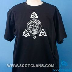 Campbell Clan Crest Celtic T Shirt