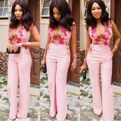 7 Classy Jumpsuit Styles You Can Rock To Your Next Owambe Latest Nigerian Fashion Styles, Latest African Styles, African Lace Styles, Latest Aso Ebi Styles, Latest African Fashion Dresses, Types Of Fashion Styles, African Clothing For Sale, Ankara Clothing, Ankara Dress Styles