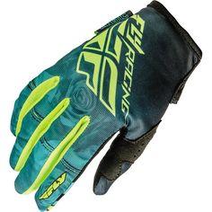 Fly Racing Kinetic Girl's Hi-Viz Gloves