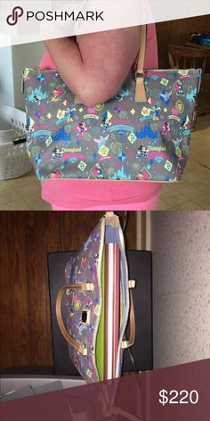 Disney Dooney & Bourke Dooney & Bourke Disney bag. The 2nd photo is with a file binder in it. Dooney & Bourke Bags Totes
