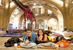 Sleep over at the Natural History Museum