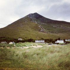 Slievemore, Achill Island, Co Mayo, Ireland