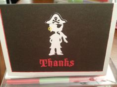 I'm selling Pirate Party Thank You Cards - pack of 10 - A$5.00 #onselz