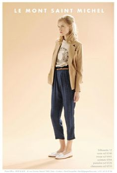just discovered french label le mont st michel-retro understated french chic