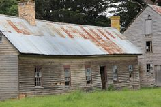 old Shearers quarters,Tasmania,Australia Australian Icons, Abandoned Churches, Homesteads, Industrial House, Old Barns, Tasmania, Sheds, Country Living, Old Houses