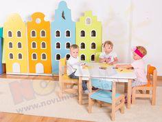 Kamieniczki - drzwi niebieskie PREMIUM Kids Rugs, Home Decor, Fashion, Moda, Decoration Home, Kid Friendly Rugs, Room Decor, Fashion Styles, Fasion