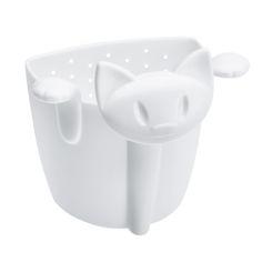 Zaparzacz do herbaty MIMMI - kolor biały, KOZIOL  Słodki, koci gadżet umili każdy chłodny wieczór...