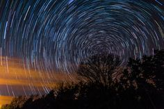 Stars over Portage Wisconsin by Ken Fager via @Boing Boing