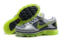 new arrival 90c0b 38a73 0aKSa Mens Nike Air Max 2009 Shoes Gray Black GreenYellow Nike Air Max For  Women,