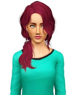 Newsea`s Vice City hairstyle retextured by Pocket for Sims 3 - Sims Hairs - http://simshairs.com/newseas-vice-city-hairstyle-retextured-by-pocket/