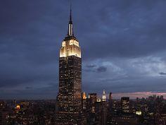 Empire State Building, New York City; by Shreve, Lamb & Harmon Associates (1931).