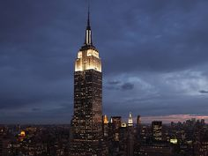 Empire State Building, New York City; by Shreve, Lamb & Harmon Associates (1931).