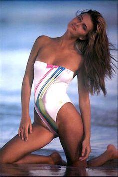Porizkova 1983 1984 1985 1986 swimsuit ass tits bikini