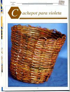 ARTE CON PAPEL: cestería « Variasmanualidades's Blog revistas