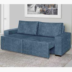 Que tal relaxar num sofá super confortável? Este, além de estiloso, oferece sofisticação e comodidade para os momentos de descanso. ;)    #decoração #design #madeiramadeira