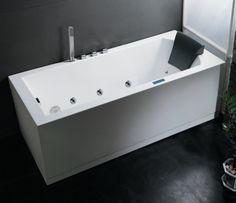Whisper Brand New AM154JDTSZ Jetted Whirlpool Bathtub