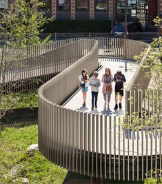 Tips On Urban Landscaping – My Best Rock Landscaping Ideas Landscape Stairs, Landscape Architecture Design, Urban Landscape, Bridge Design, Fence Design, Auxerre, Architecture Presentation Board, Urban Nature, Urban Fabric