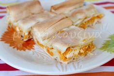 μικρή κουζίνα: Κολοκυθόπιτα με κόκκινη κολοκύθα και 3 τυριά Spanakopita, Ethnic Recipes, Food, Essen, Meals, Yemek, Eten